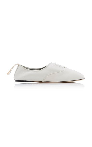 Loewe Leather Oxford Shoes Size: 41