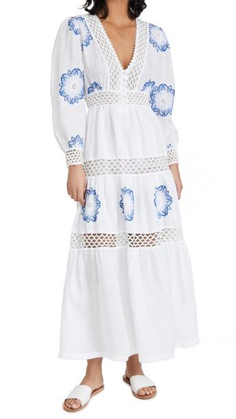 Temptation Positano Croazia Dress in blue