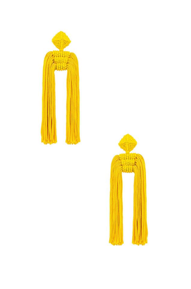 Sachin & Babi Dupio Tassel Earrings in yellow