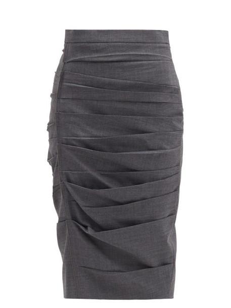 Max Mara - Calcila Skirt - Womens - Grey