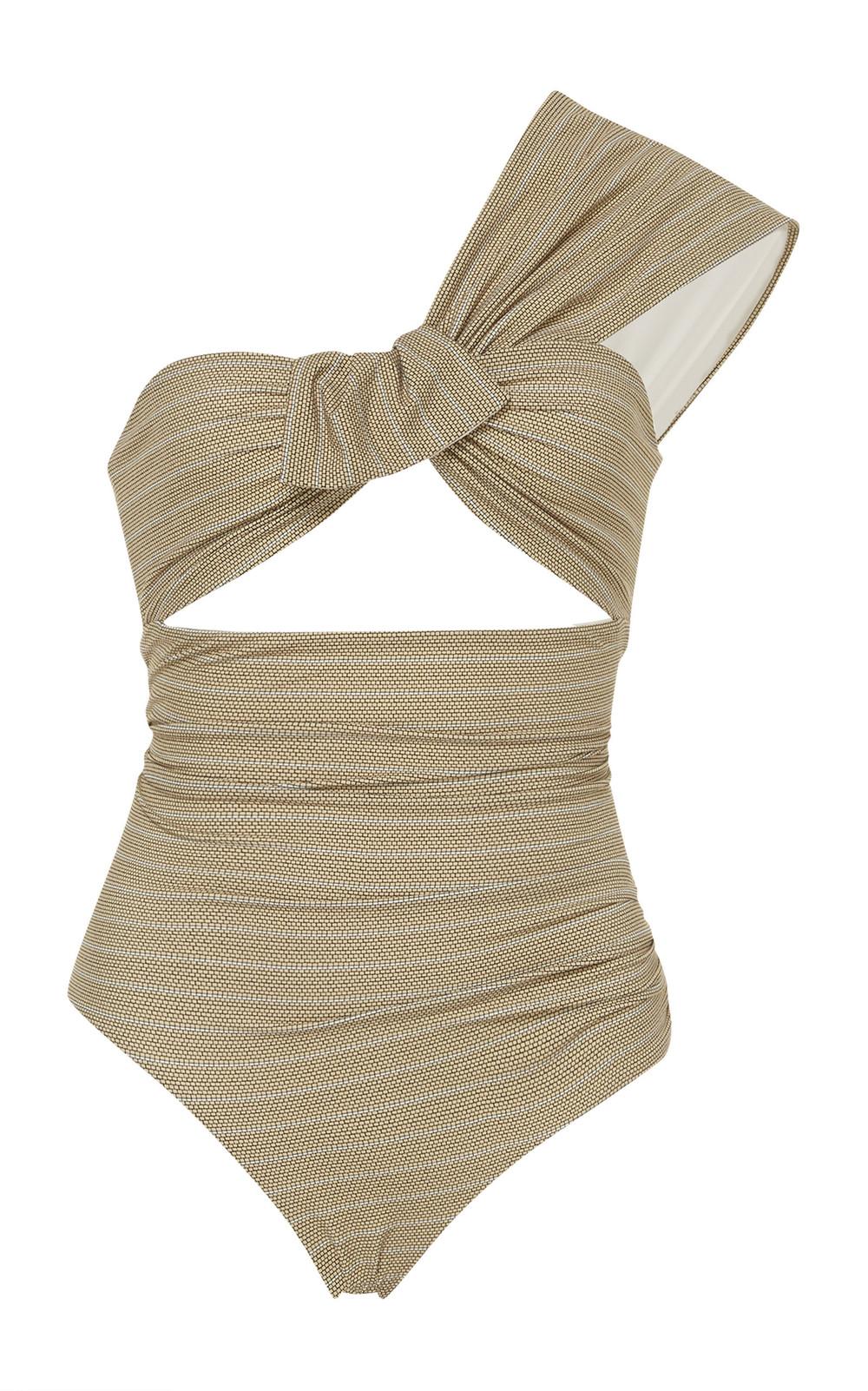 Marysia Swim Venice One-Shoulder Swimsuit in multi
