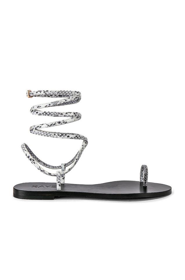 RAYE Dali Sandal in black