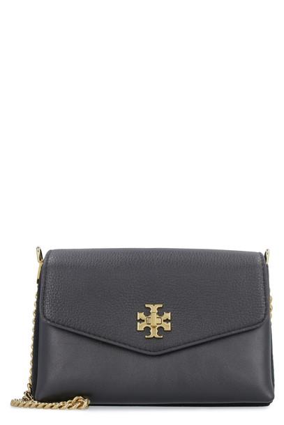 Tory Burch Kira Leather Crossbody Bag in black