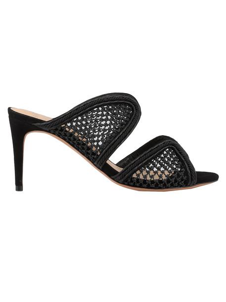 Alexandre Birman Amanda Mule 75 Sandal in black