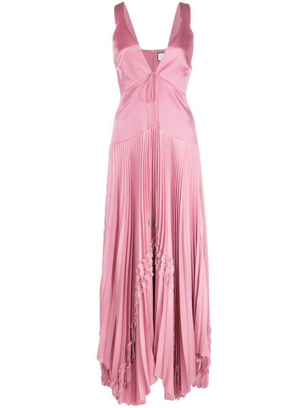 Alexis Bellona maxi dress in pink