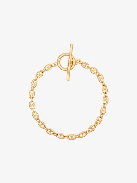 All Blues Gold Rope bracelet