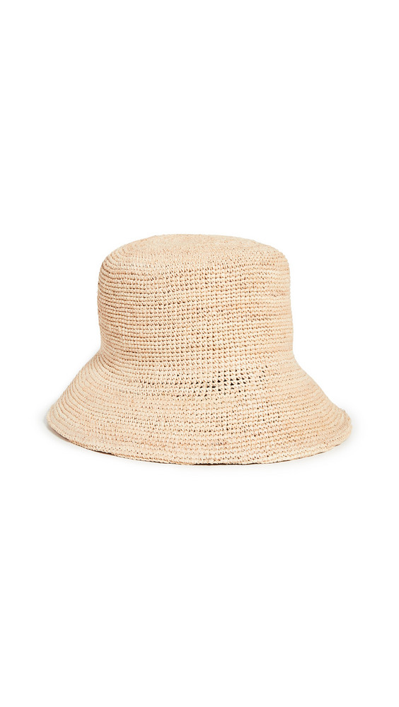 Lack Of Color Inca Bucket Hat in natural