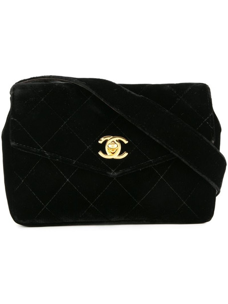 Chanel Pre-Owned waist bum bag in black