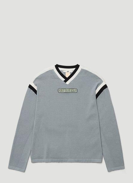 Eytys Tucker Sweatshirt in Blue size XXS - XS