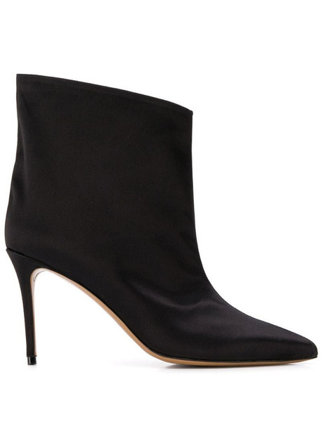 Alexandre Vauthier stiletto ankle boots in black