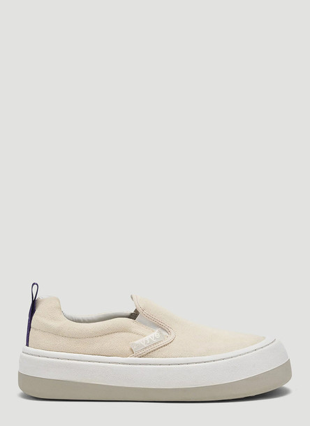 Eytys Venice Canvas Sneakers in White size EU - 37