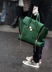 satchel,leather,green,sneakers,green bag,bag