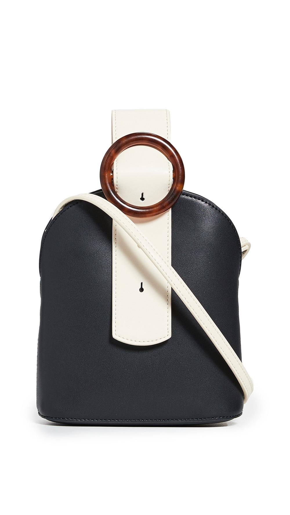 Parisa Wang Addicted Bracelet Bag in black / cream