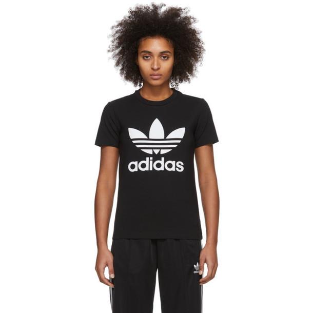 adidas Originals Black Trefoil T-Shirt