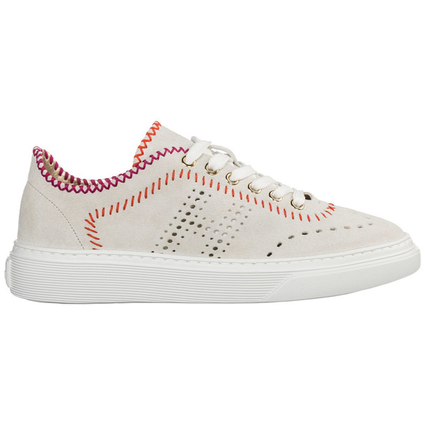 Hogan Shoes Suede Trainers Sneakers H365