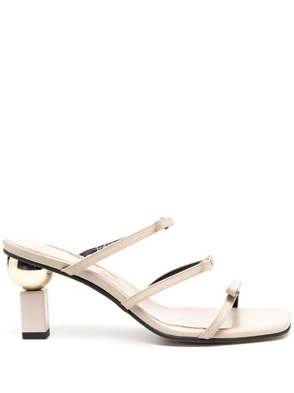 Yuul Yie Daylight triple-strap sandals in neutrals