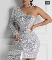 dress,minny,cute,birthday,one shoulder