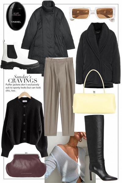 teetharejade blogger coat sunglasses jacket shoes pants bag cardigan