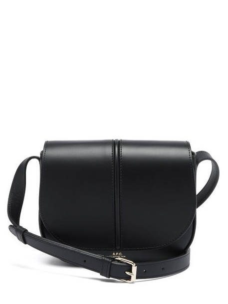 A.P.C. A.P.C. - Betty Smooth-leather Cross-body Bag - Womens - Black