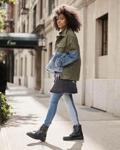 skirt,jacket