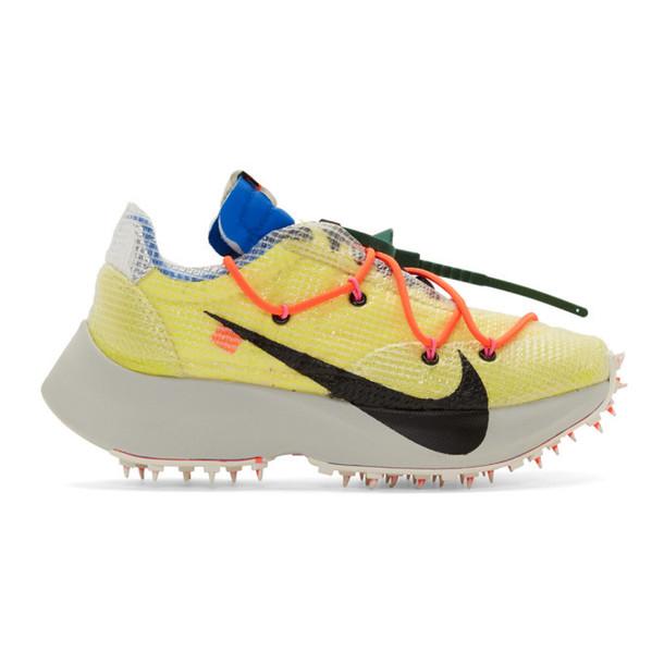 Nike Yellow Nike Vapor Street Sneakers