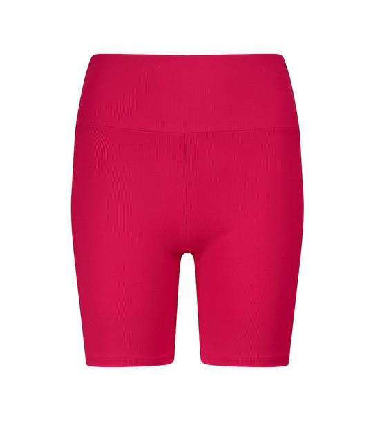 Lanston Sport Train biker shorts in pink