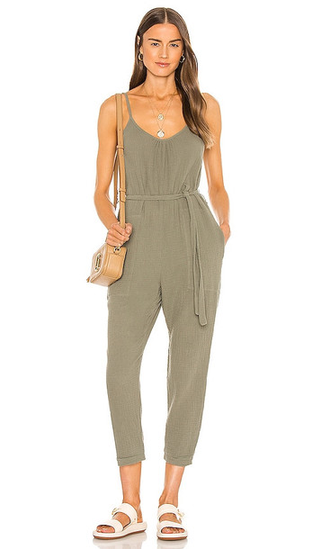 Nation LTD Seneca Easy Playsuit in Army