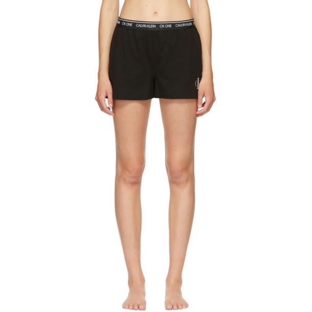 Calvin Klein Underwear Black CK One Basic Sleep Shorts