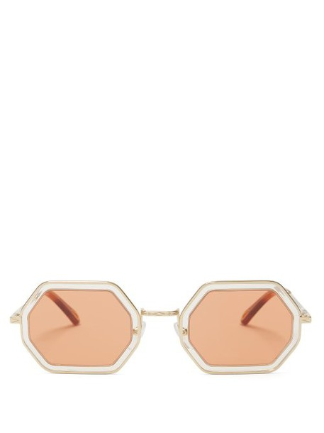 Chloé Chloé - Tally Sunglasses - Womens - Gold