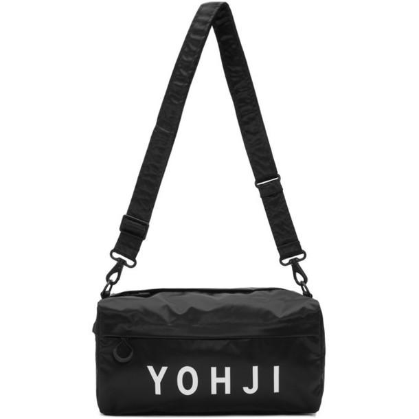 Y-3 Black Yohji Letters Shoulder Bag