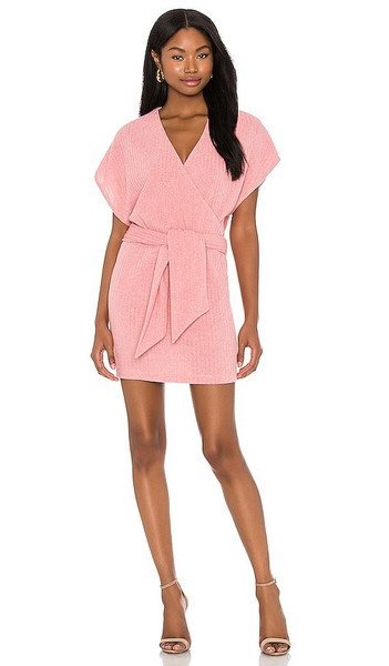 SAYLOR Yelle Mini Dress in Pink in rose