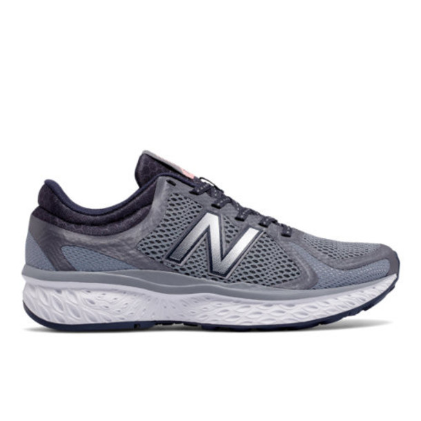 New Balance 720v4 Women's Everyday Running Shoes - Grey/Silver (W720LT4)