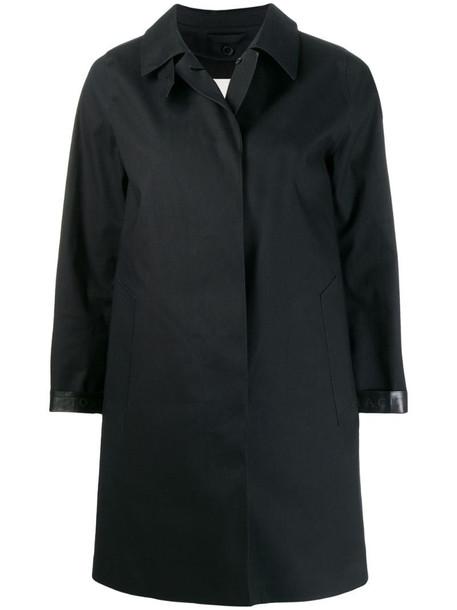 Mackintosh Dunoon short coat in black