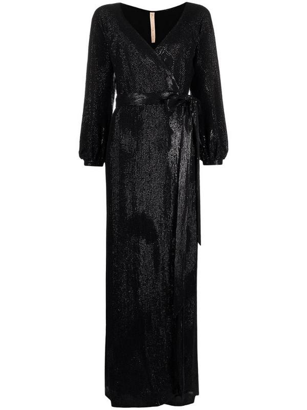 Maria Lucia Hohan Sabrina sequin-chiffon maxi dress in black