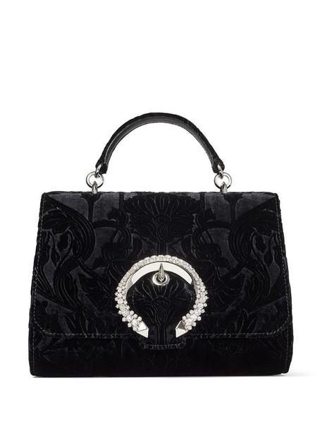 Jimmy Choo Madeline top handle bag in black