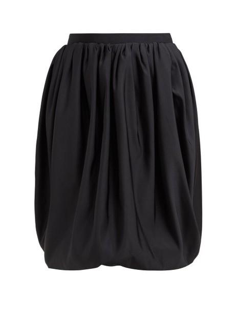 Calvin Klein 205w39nyc - Gathered High Rise Bubble Hem Skirt - Womens - Black