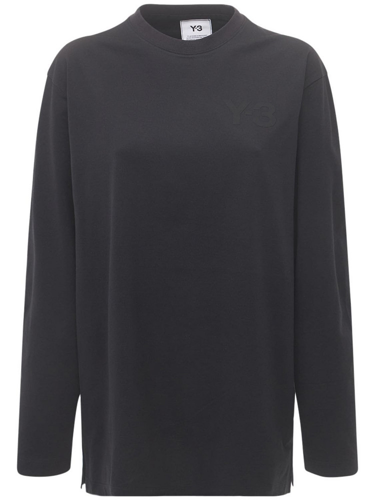 Y-3 Classic Cotton Jersey T-shirt in black