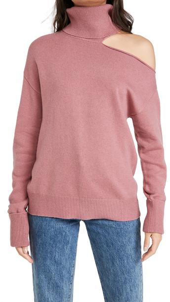 PAIGE Raundi Sweater in rose