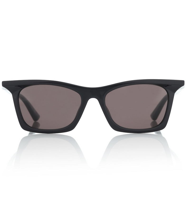 Balenciaga Rim rectangular sunglasses in black