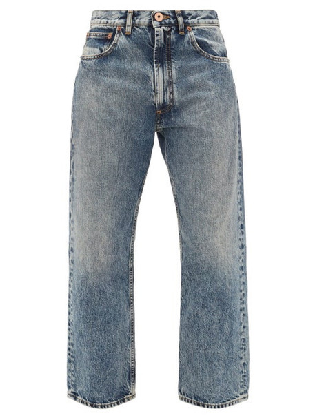 Maison Margiela - Boyfriend-fit Straight-leg Jeans - Womens - Denim