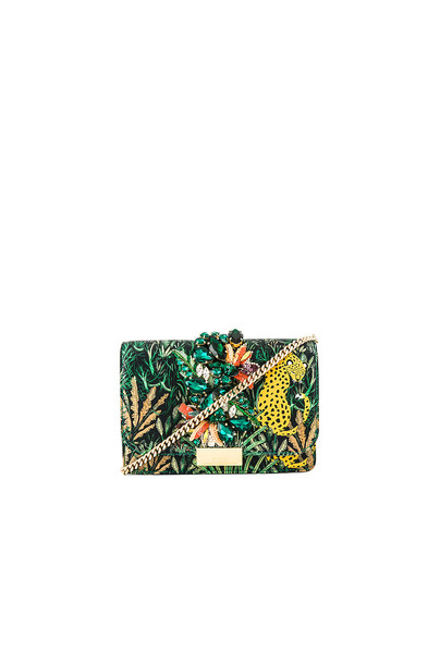 GEDEBE Cliky Clutch in green