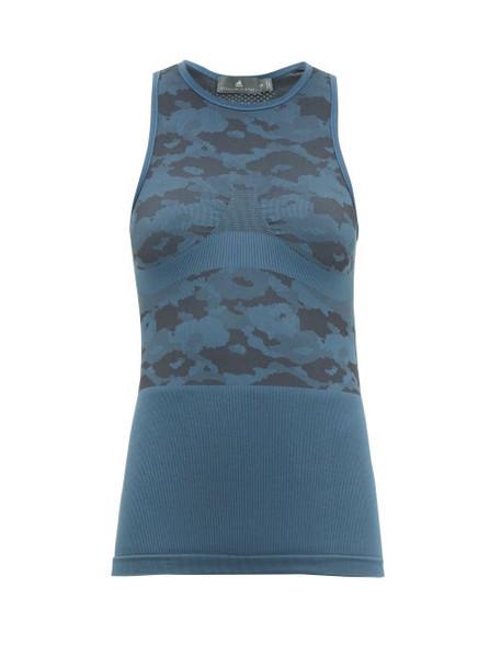 Adidas By Stella Mccartney - Performance Base Tank Top - Womens - Blue
