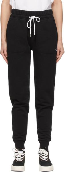 Maison Kitsuné Maison Kitsuné Black Tricolor Fox Patch Classic Lounge Pants