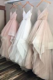 dress,pink dress,nude dress,white dress,prom dress