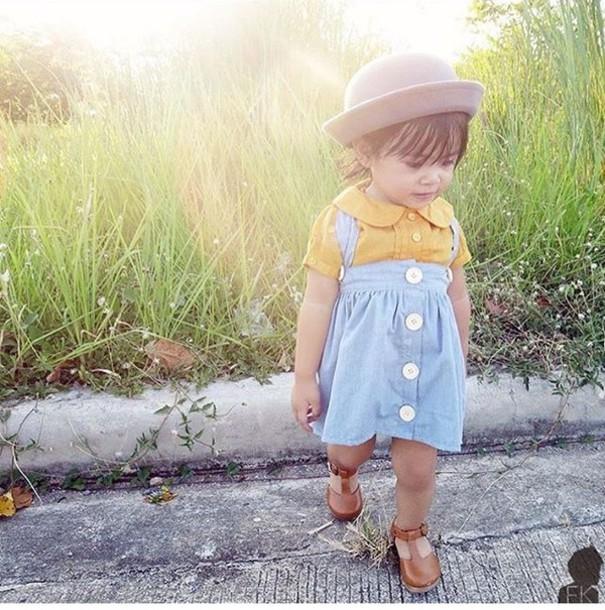dress yellowandblue