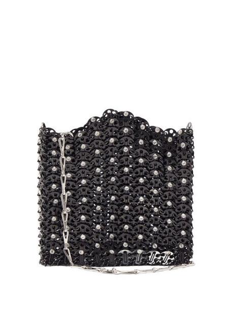 Paco Rabanne - Iconic 1969 Chain Shoulder Bag - Womens - Black
