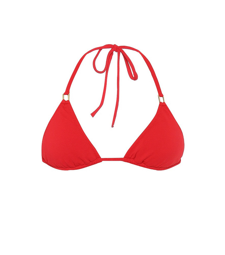 Melissa Odabash Cancun bikini top in red