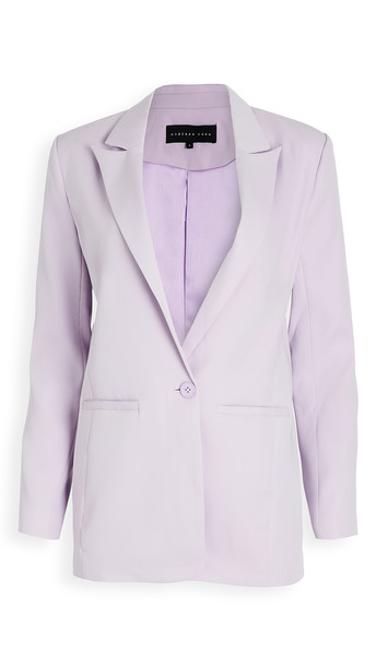 endless rose Tailored Blazer in lilac