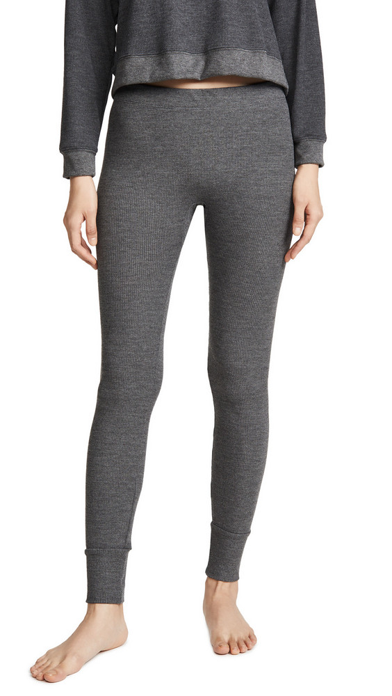 Maison du Soir Madrid Thermal PJ Pants in charcoal