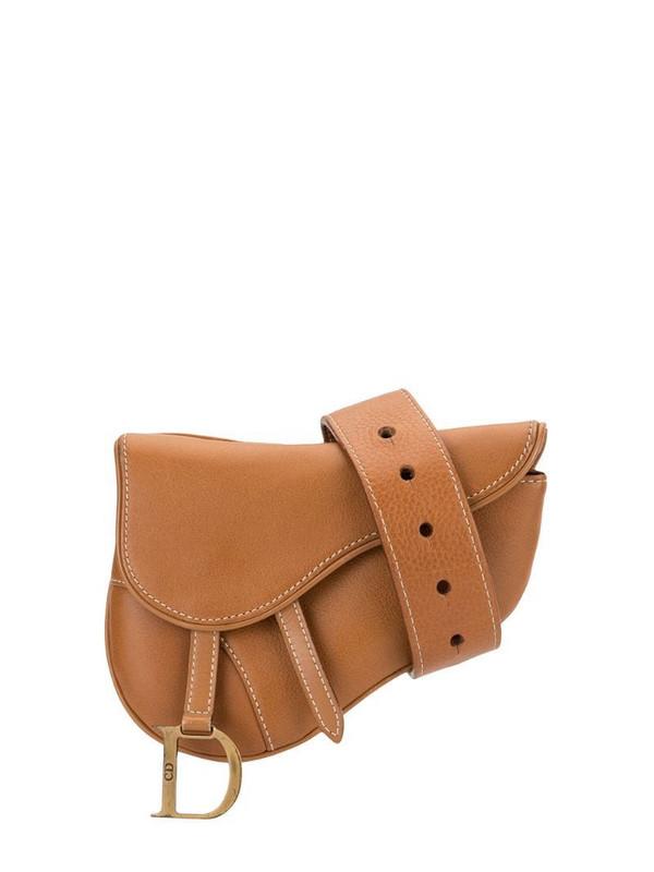 Christian Dior pre-owned Saddle belt bag in brown